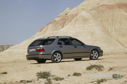 Particolarmente sicuro: Saab 9-5 di 2005.