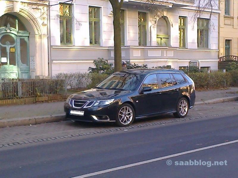 Saab Aero im Spaetherbst