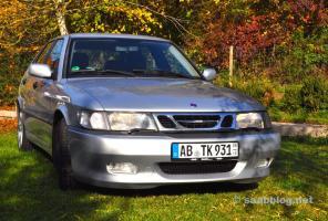 Saab 9-3 Aero con Body Kit Viggen. Season finale 2015.