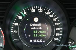 Consumo de combustível: índices suecos.