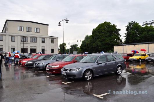 Saab 9-5 kromram, BioPower. Saab Festival 2010.