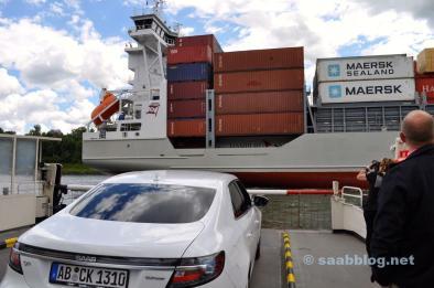 Saab BioPower. Canal nord de la mer Baltique.