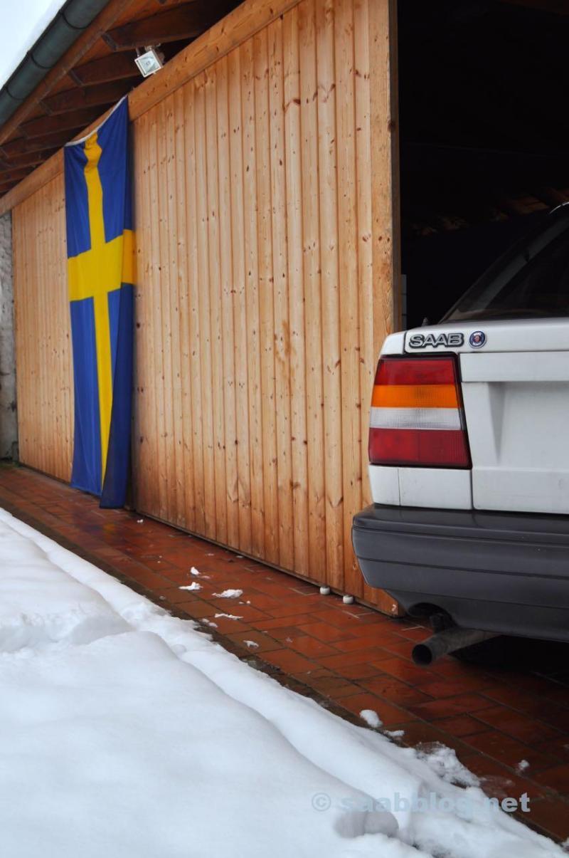 Saab 9000 CC - Winterschlaf?