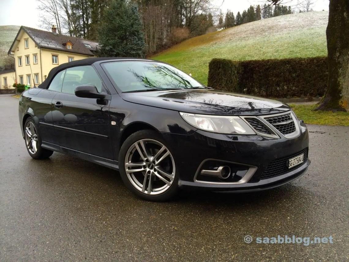 Veado Saab 9-3 conversível da Ivo. Legal Saab Iniciar 2016.