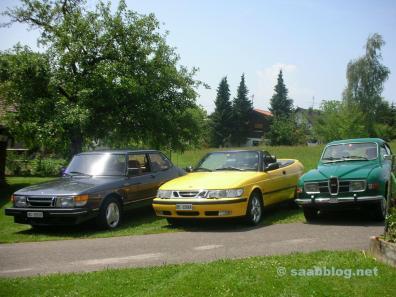 Saab colección de Hans.