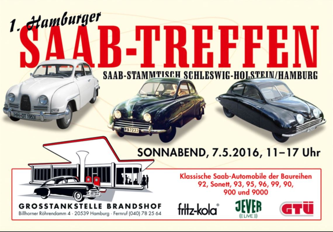 Saab Treffen Brandshof