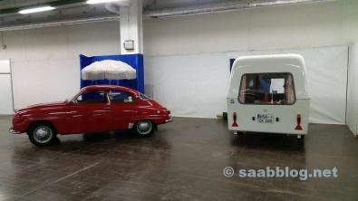 Costruzione Saab Clubstand Techno Classica 2016