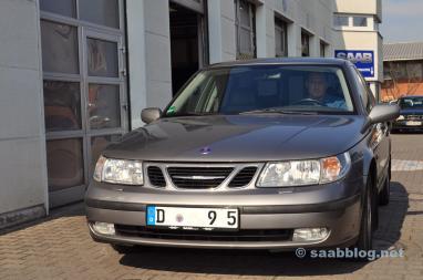 Saab 9-5 2.3t Arco no Saab Service Frankfurt