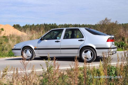 Saab 9000 CSE 2.3t Anniversary 1998.