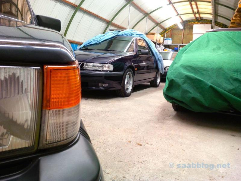 Blik in onze Saab-hal. Alles Saab. Gegarandeerd.