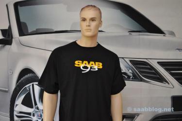 T-shirt Saab 9-3 da nossa loja de fãs