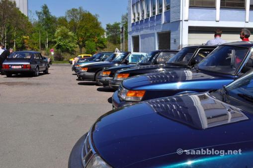 1. Riunione di Amburgo Saab, Brandshof.