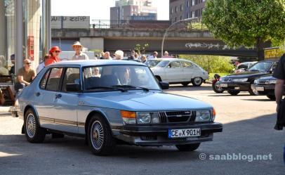 1. Hamburg Saab-möte, Brandshof.