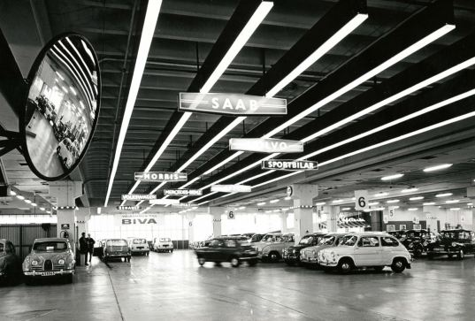 Supermercado Saab 1967. Foto: Hamburger Genossenschaftsmuseum