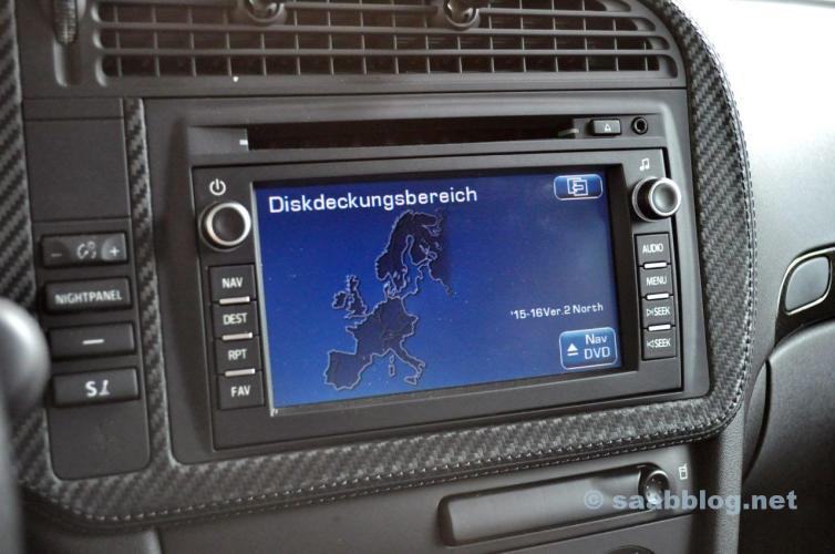 Navi DVD auf Audi Basis im Test.