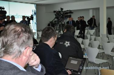 Pressezentrum.