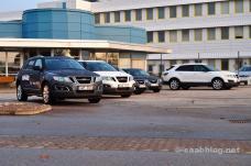 Portal principal, fábrica de Saab, 2011 de octubre
