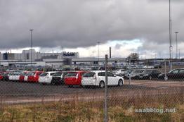 Abril 2012. Gravel lugar en la fábrica