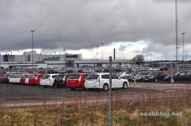 April 2012. Grindplaats in de fabriek