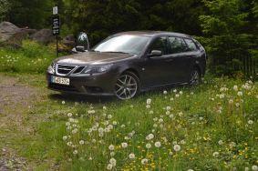Saab 9 3 2008. Bild: Dietmar Erhard