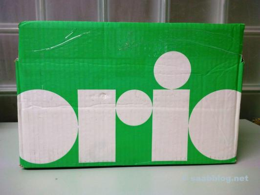 A package from Orio Germany