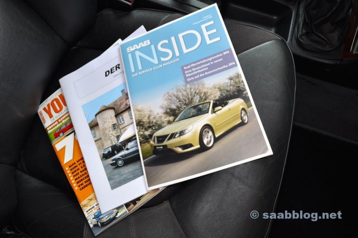 Saab Inside, The 96, Youngtimer de Motor Klassik