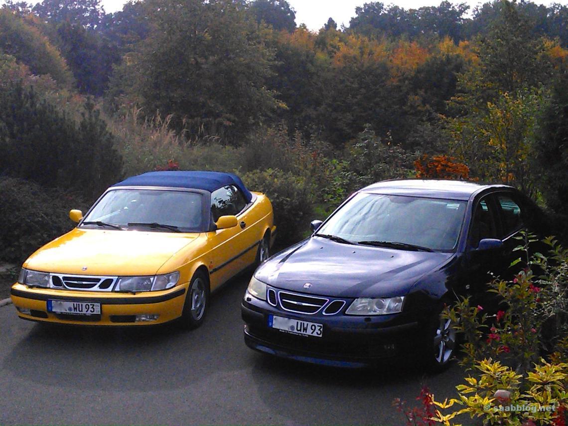 Saab 9-3. Zwei Generationen