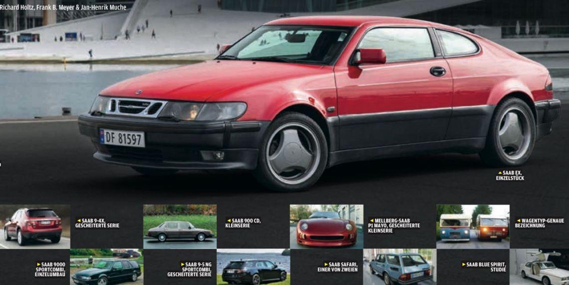 Saab EX. Einzelstück. Reportage in der Autobild Klassik.