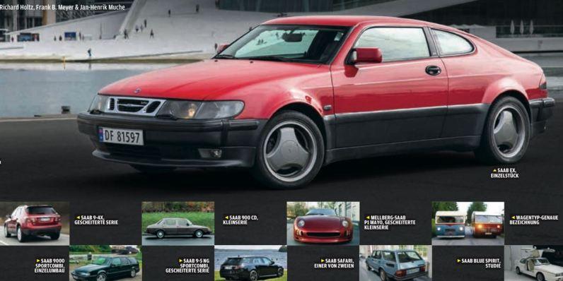Saab EX. Engångs. Rapportering i Autobild Klassik.
