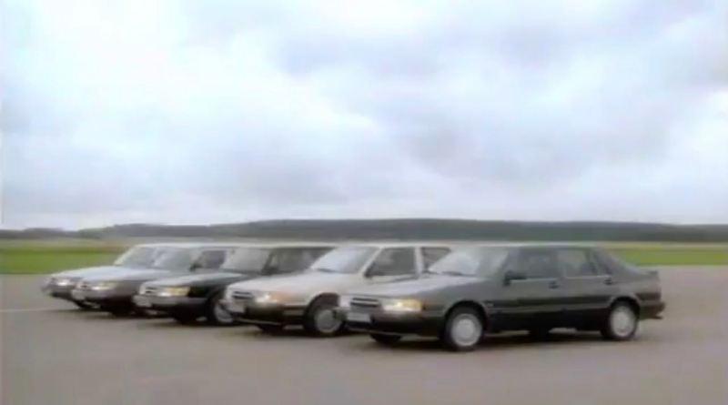 Non scendiamo a compromessi, facciamo Saab! Film d'immagine 1990.