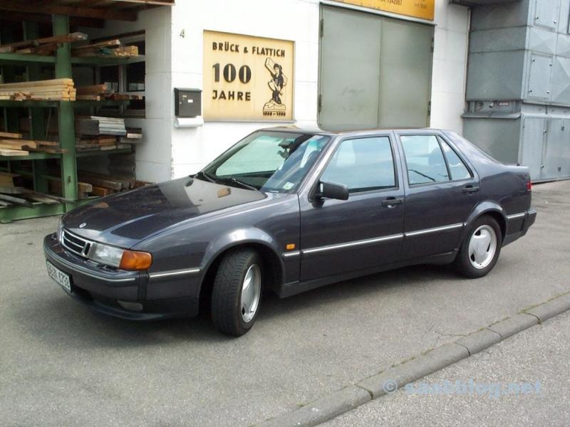 Saab 9000 - die Aubergine