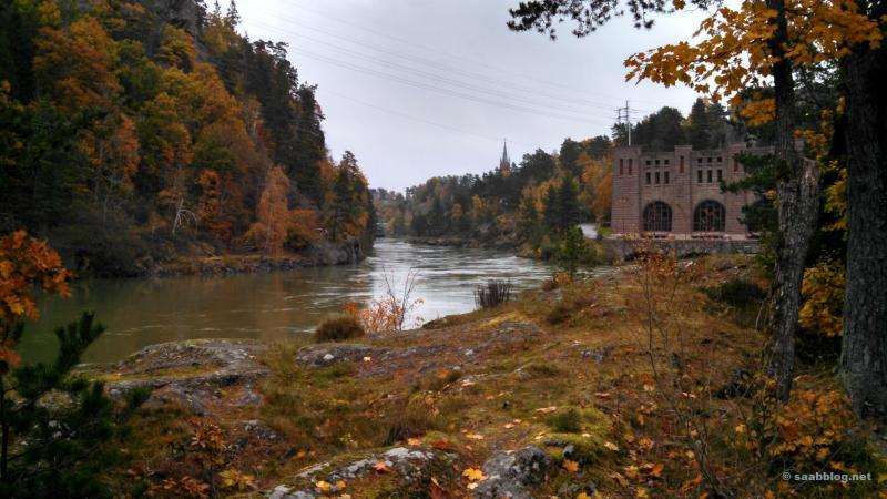 Das Generatorenhaus Olide in Trollhättan