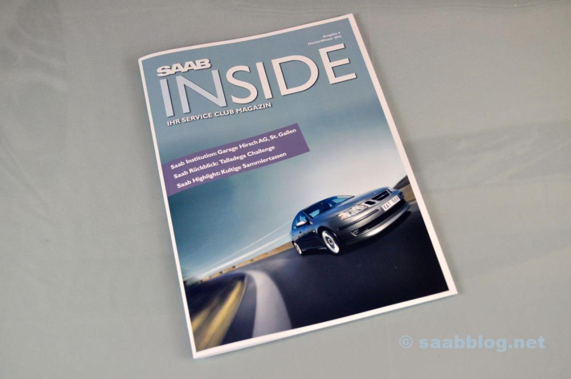 Saab Inside. Ausgabe Nummer 6.