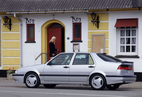 Saab 9000 Aero. Bild: Saab Automobile AB
