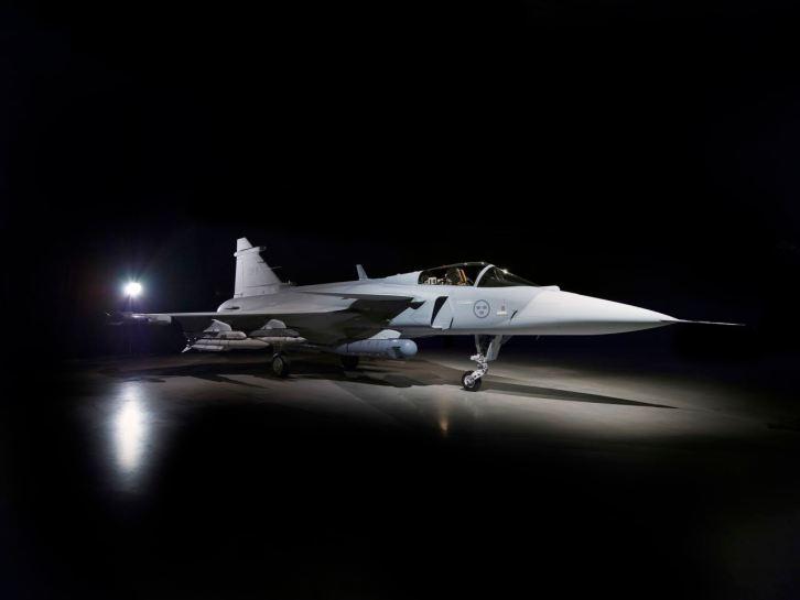 Der neue Saab Gripen E... Bild: Saab AB