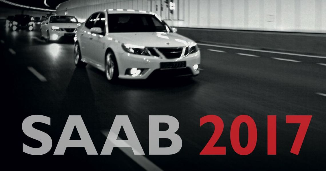 2017er Saab Kalender