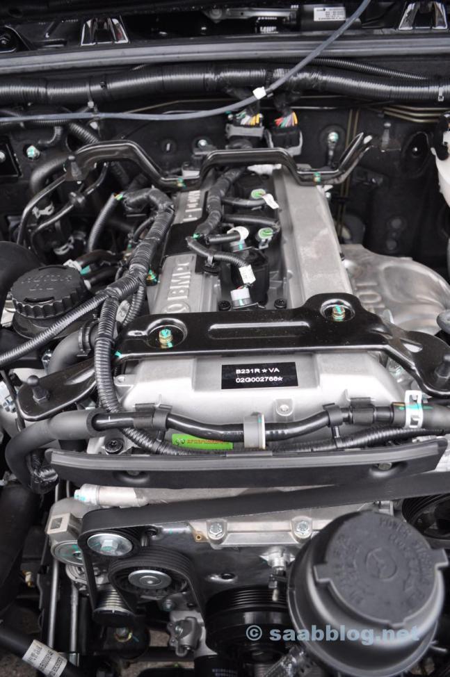 B231R Motor, ursprünglich Saab.