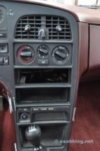 Centreringskonsol, ingen radio, ingen luftkonditionering.