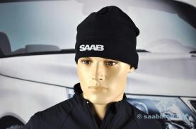 Saab fleece muts