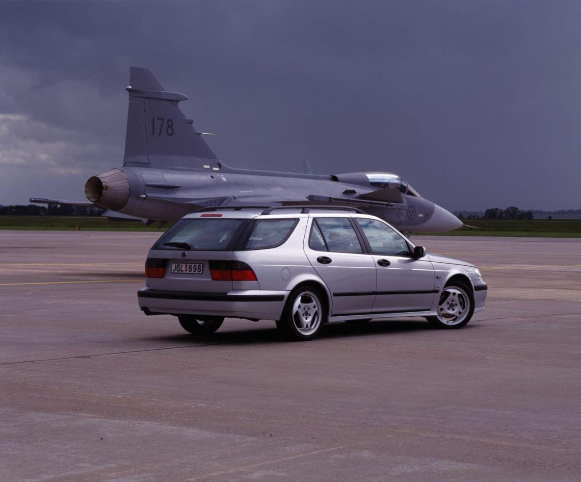 Saab volta. Imagem: Saab Automobile AB
