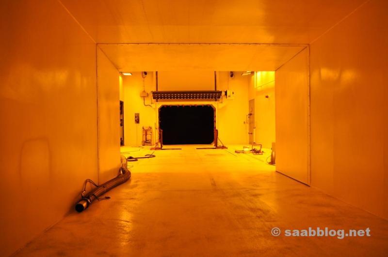 NEVS Wind- Klimatunnel.