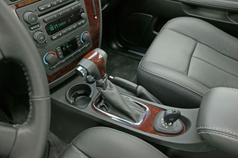 """La consola central """"saabizada"""". Imagen: Saab Automobile AB"""