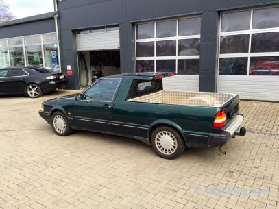 Uma raridade: pickup 9000 CC. Propriedade da família Lafrentz.