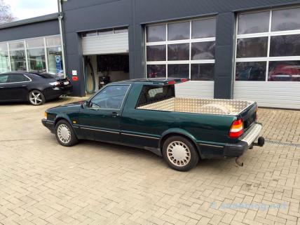 Eine Rarität: 9000 CC Pickup. Im Besitz der Familie Lafrentz.