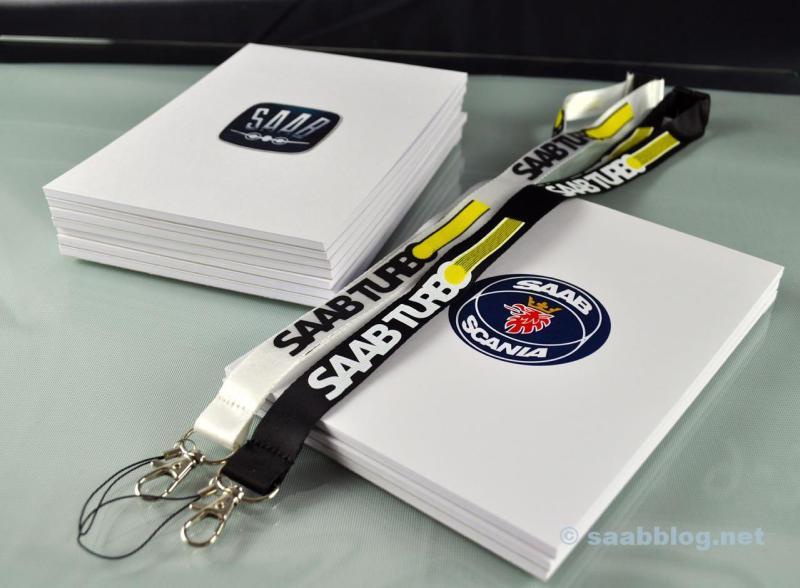 Immer neue Idee um die Welt etwas mehr Saab zu machen. Saab Schreibblöcke,
