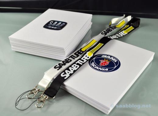 Alltid ny idé att göra världen lite mer Saab. Saab skrivblock,