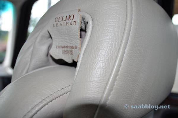 Edles Elmo Leder. Gibt es noch heute in der Oberklasse und bei Luxus Marken.