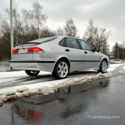 O último hatchback da Saab ...