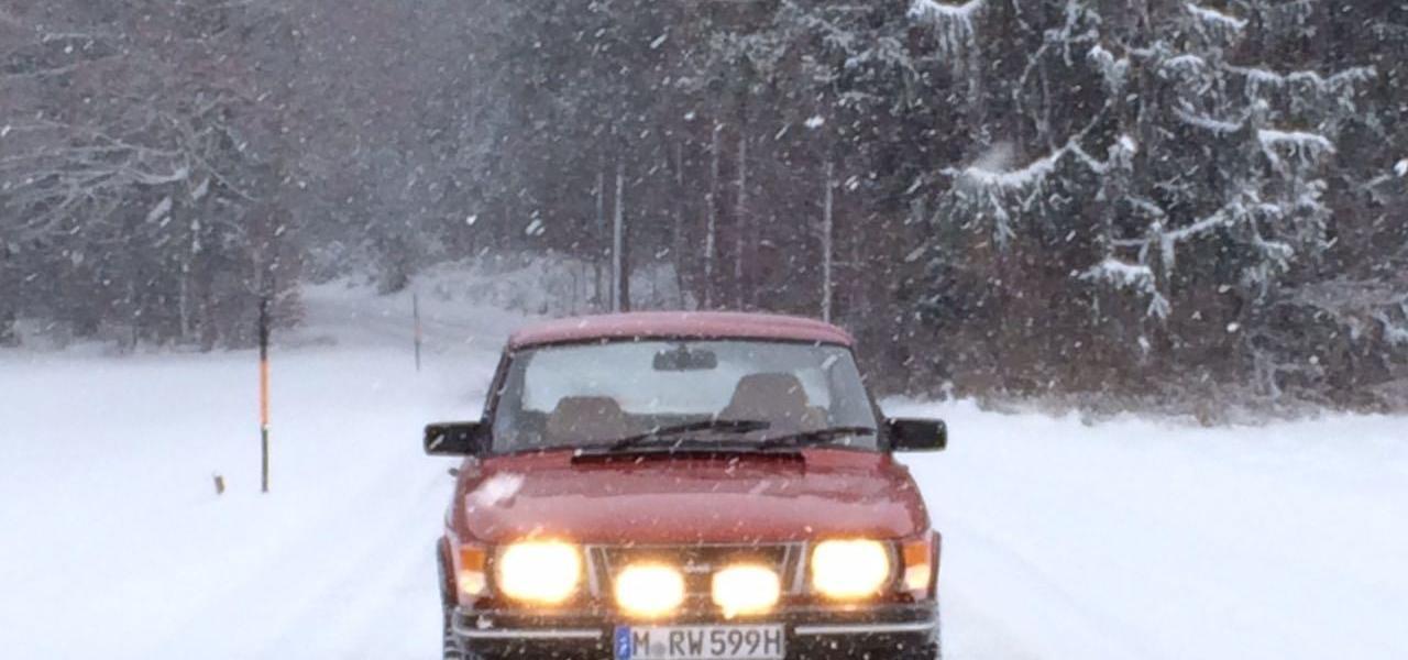 Saab Teams auf der AvD Histo Monte 2017