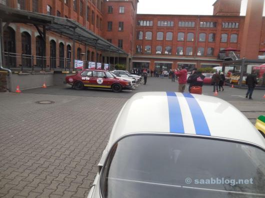 2 x Saab, bereit für die Histo Monte.